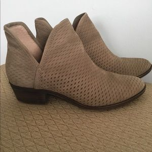 Lucky Brand Baley Bootie - Brindle/Taupe 8